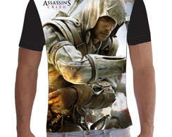 Camiseta Camisa Assassins Creed