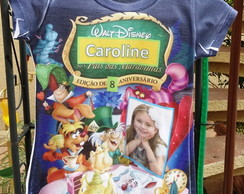 camiseta fotos e personagens