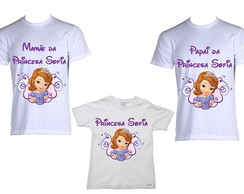 Kit de Camisetas Princesa Sofia