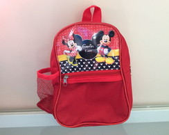 MOCHILA VIOLA MICKEY e MINNIE