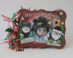 Kit Mini Album Natal - Christmas Frame