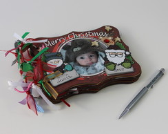 Mini Album Natal - Christmas Frame