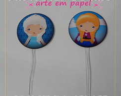 TOPPER PARA DOCES FROZEN CUTE KIT 1