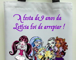 Sacola MONSTER HIGH PERSONALIZADA