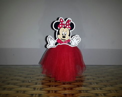 Tubete Minnie Vermelha - Disney