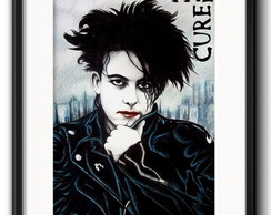 Quadro Robert Smith com Paspatur