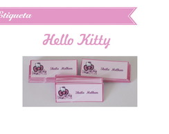 Etiquetas Hello Kitty