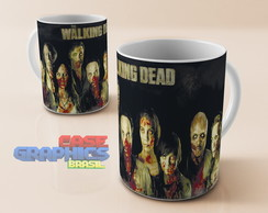 Caneca louça THE WALKING DEAD 4