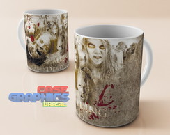 Caneca louça THE WALKING DEAD 2