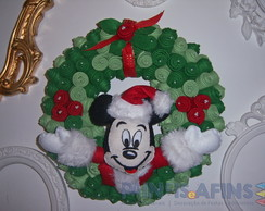 Guirlanda Natal do Mickey