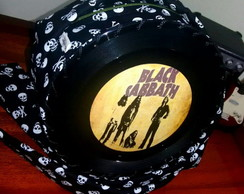 Bolsa de Disco Black Sabbath