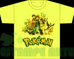 CAMISETA COLORIDA POKEMON