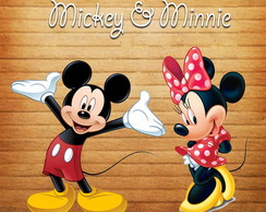 Apliques/ Recortes - Mickey e Minnie