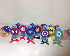 Mini tubetes super herois