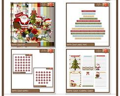 Kit Digital Santa Claus Bundle