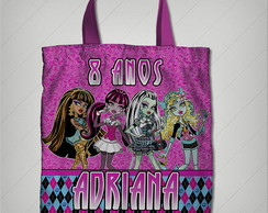 bolsinha monster high 23x26