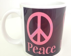 Caneca Peace Love Dance.