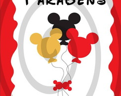 Papel Arroz Mickey