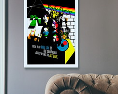 POSTER PINK FLOYD - A4
