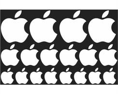 18x adesivo apple preto note celular no elo7 queen indstria de 18x adesivo apple branco note celular thecheapjerseys Images