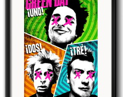 Quadro Green Day com Paspatur
