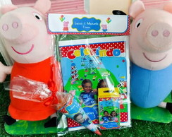 Kit livrinho de Colorir Peppa Pig