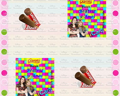 Rotulo Chocolate Baton Icarly