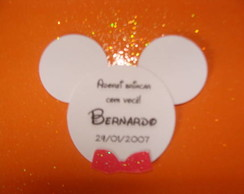 TAG DE AGRADECIMENTO da FESTA DO MICKEY