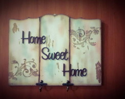 Placa Home Sweet Home