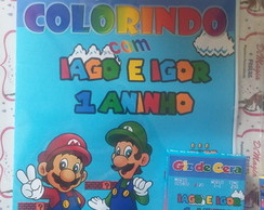 Kit de Colorir DiMagia Mario Bross