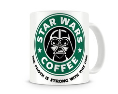 Caneca StarWars Coffee Darth Vader Force