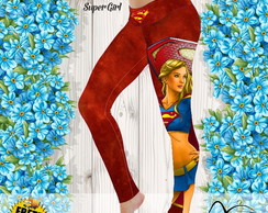 Calça Legging estampa Supergirl
