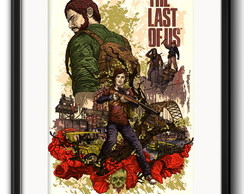 Quadro The Last Of Us Game com Paspatur