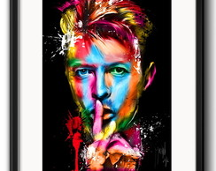 Quadro David Bowie Colors com Paspatur
