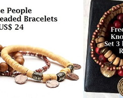FP Knock OFF - Braceletes Mantra Beaded