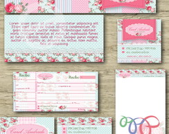 Kit Identidade Visual - Floral 5