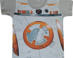 Camiseta infantil BB-8 (Star Wars)