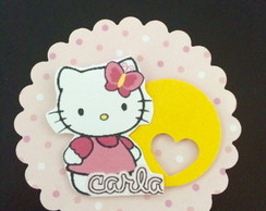 Tag Scrapbook Duplo Hello Kitty 5cm