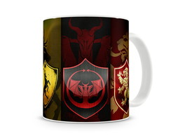 Caneca Game of Thrones Brasões Casas