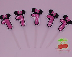 Topper com Recorte Especial - Minnie
