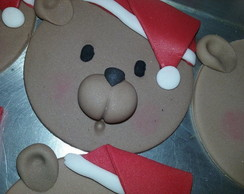 Toppers em pasta americana Natal