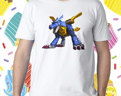 Camiseta - MetalGarurumon
