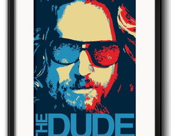 Quadro The Dude com Paspatur