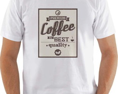 "Camiseta ou baby look ""Coffee"""