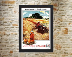Quadro Vintage Johnnie Walkeer 42x30