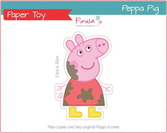 Paper Toy Digital Peppa