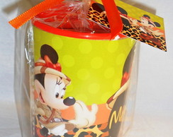 Cofre Personalizado Minnie Safari