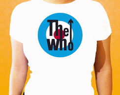 Camiseta - The Who - M/F