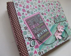 Álbum scrapbook Amizade Girls
