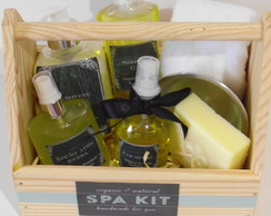 SPA KIT 1 Masculino c/ óleos essenciais